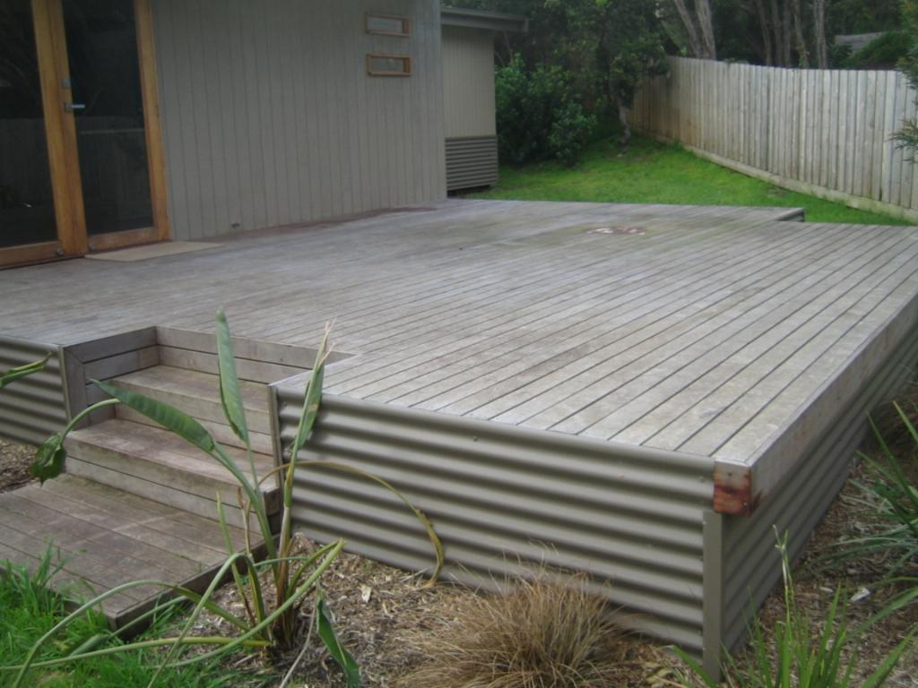 Timber decks inspiration hyphen rock solid scapes for B and q timber decking