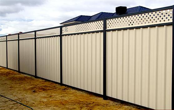 Colorbond Fencing Desgins by Mermaid Glass and Aluminum Pool Fencing