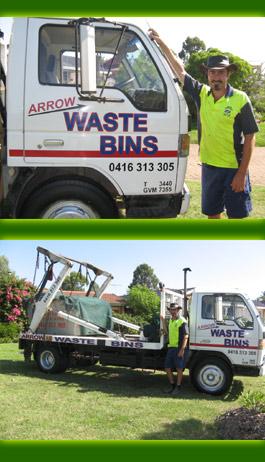 Arrow Waste Bins Bligh Park New South Wales Robert