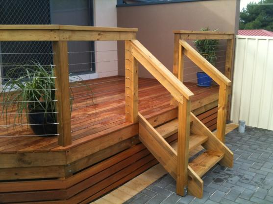 Elevated Decking Ideas by Andrew Schaaf  General Builder