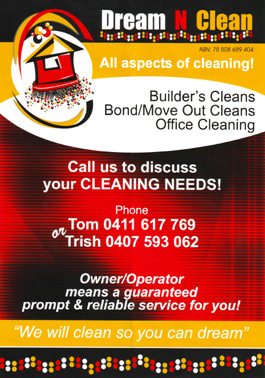 Dream N Clean Toowoomba Queensland Tom Clevin 2