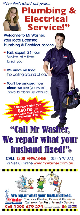 Mr Washer Sydney St Peters Mr Washer Plumber