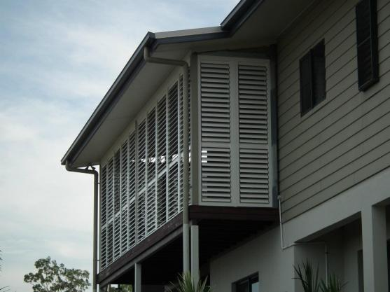 Outdoor Shutter Designs  by ARK Finishing Touches