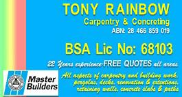 Tony Rainbow Builder