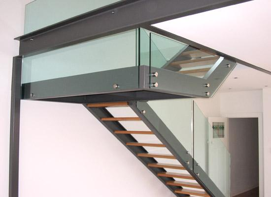 Stair Designs by Mac's Stainless Fabricators