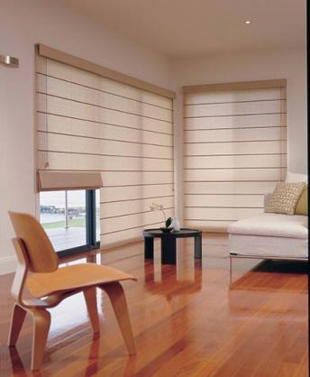 Roman Blind Ideas by Burnside Blinds & Curtains