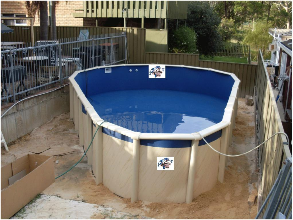 Swimming Pools Plunge Pool Above Ground Semi Inground Pools Sydney Metro Wollongong Central
