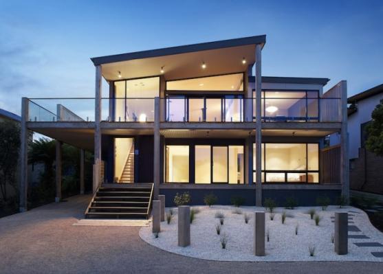 House Exterior Design by Simpatico Interior Design