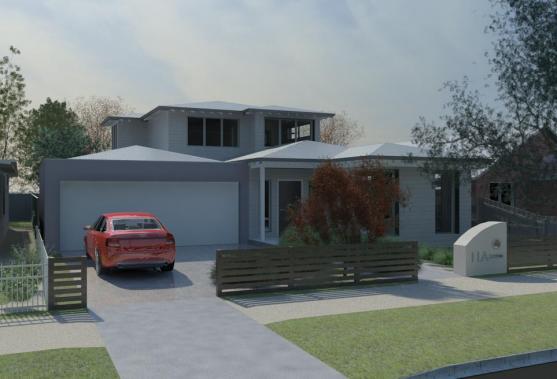 Entrance Designs by McGann Architects Pty Ltd