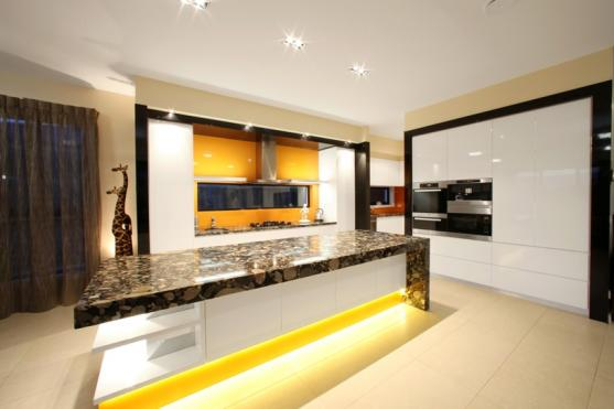 Lighting Design by Melbourne Contemporary Kitchens