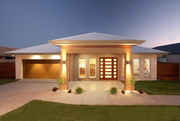 Captivating Style Ideas   Exteriors   Home Designs   Single Storey   Hotondo Homes  Rockhampton   Australia | Hipages.com.au