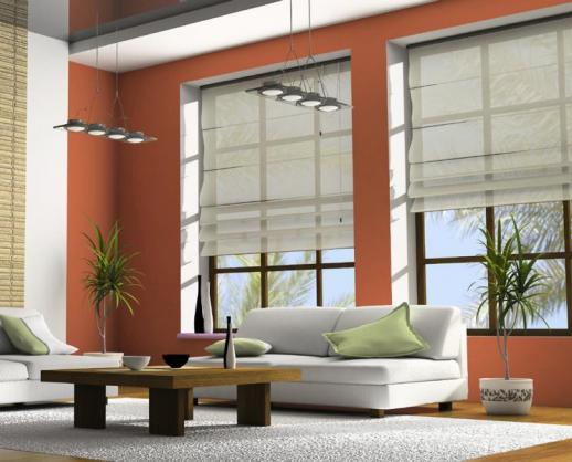 Roman Blind Ideas by Accent