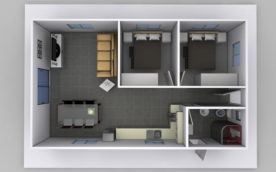 Granny flat design ideas get inspired by photos of for Interior designs for flats