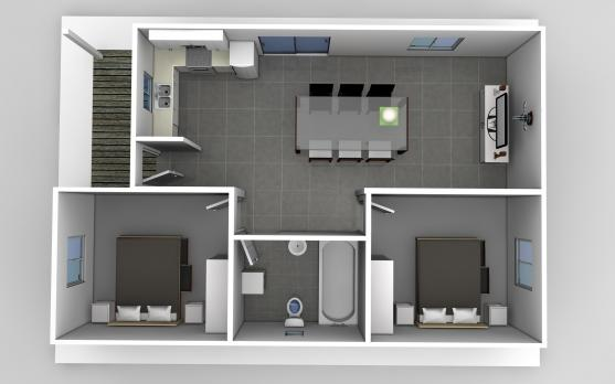 Granny flat design ideas get inspired by photos of for Best interior designs for flats