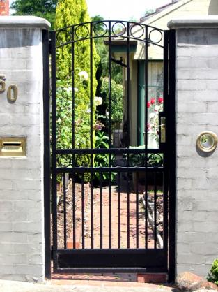 Gentil Front Gate Designs By Shieldguard Security Doors Gates