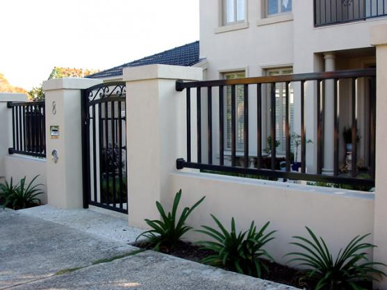 Modern fence and gate philippines joy studio design for Modern house gate designs philippines