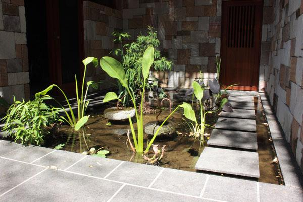 gardens in courtyards