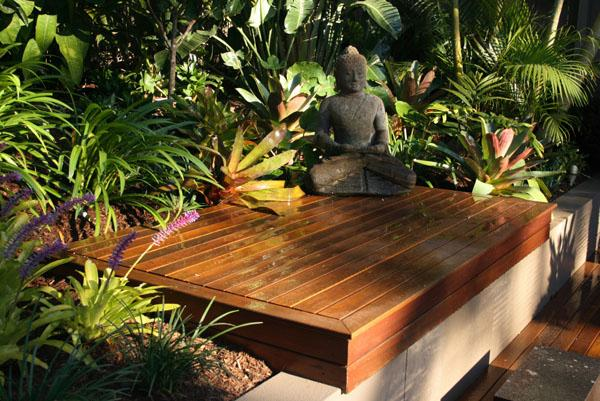 Outdoor Inspiration Water Features The tropical garden