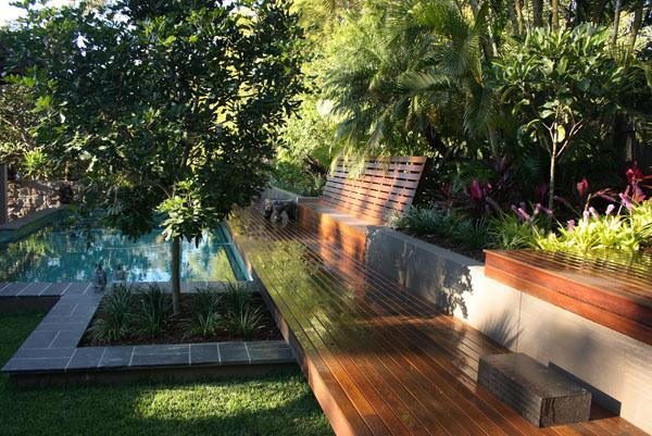 Outdoor inspiration the tropical garden steven clegg for Tropical garden designs australia