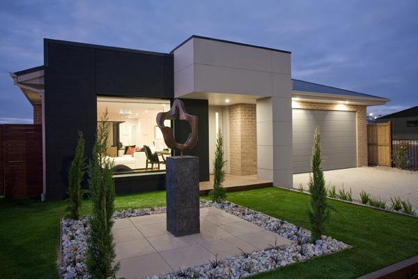 Style ideas exteriors home designs single storey for Home design ideas australia
