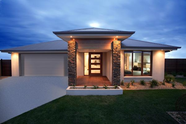 Captivating Outdoor Inspiration   Exteriors   Home Designs   Single Storey   Brad  Nation Hotondo Homes   Australia | Hipages.com.au