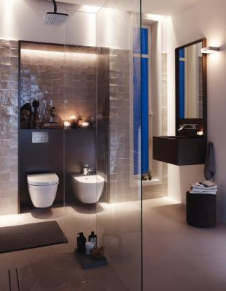 Frameless Shower Screen Designs by Geberit
