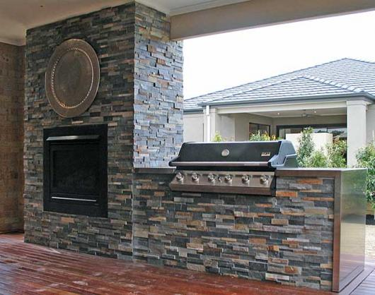 Outdoor Kitchen Ideas by Classy Stone Solutions