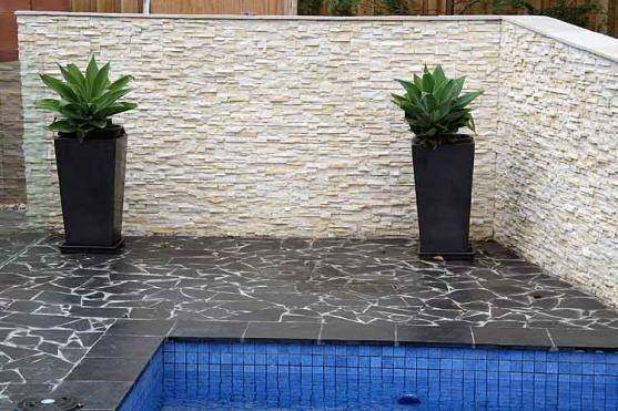 Outdoor tile design ideas get inspired by photos of outdoor tiles from australian designers for Exterior wall tile design ideas