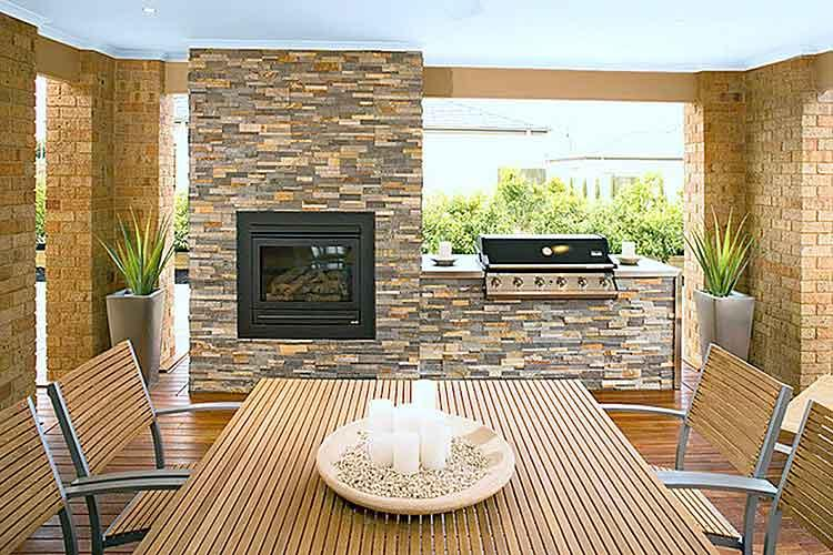 Outdoor kitchens inspiration classy stone solutions for Outdoor kitchen australia