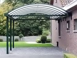 Curved Roof Carports