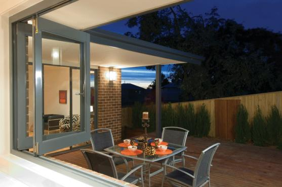 Bi Fold Window Designs by Trend Windows & Doors