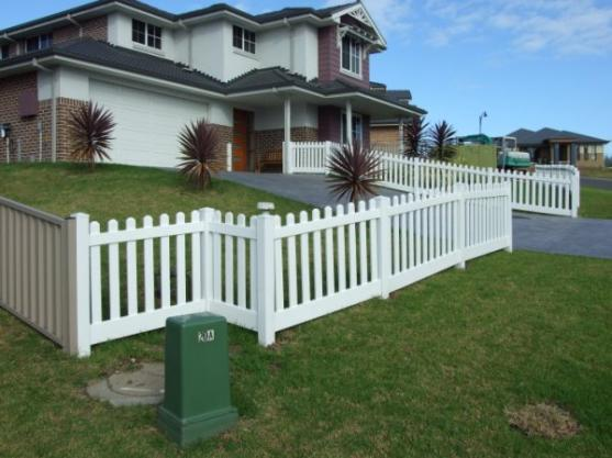 Fence Designs By PVC Ultimate Fencing