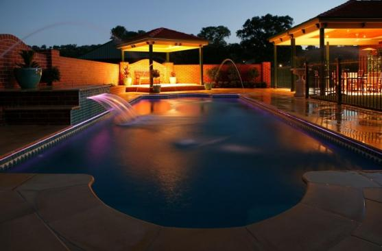 Pool Lights Ideas by Australian Outdoor Living