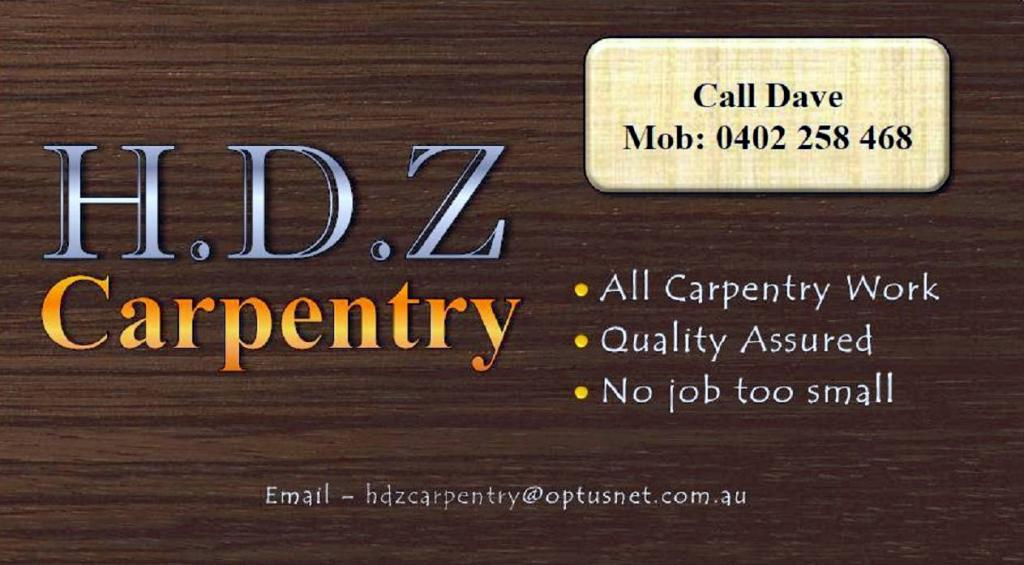 H.D.Z Carpentry