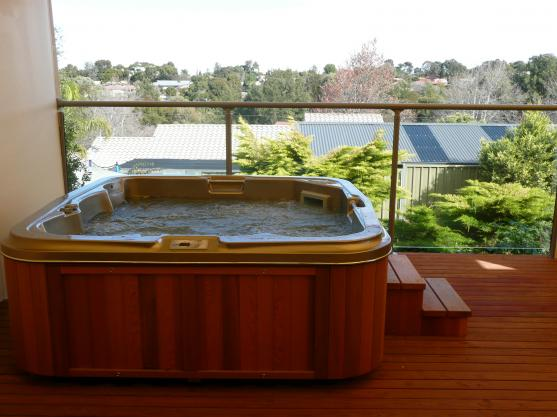 Spa Design Ideas by Quality Fence Construction