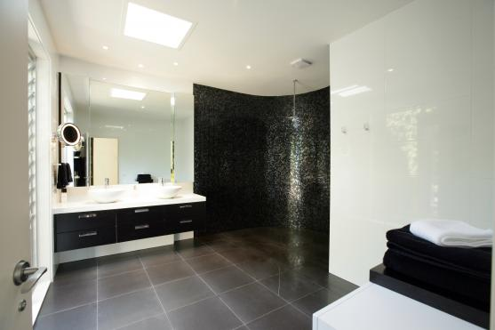 Frameless Shower Screen Designs by Smarter Bathrooms