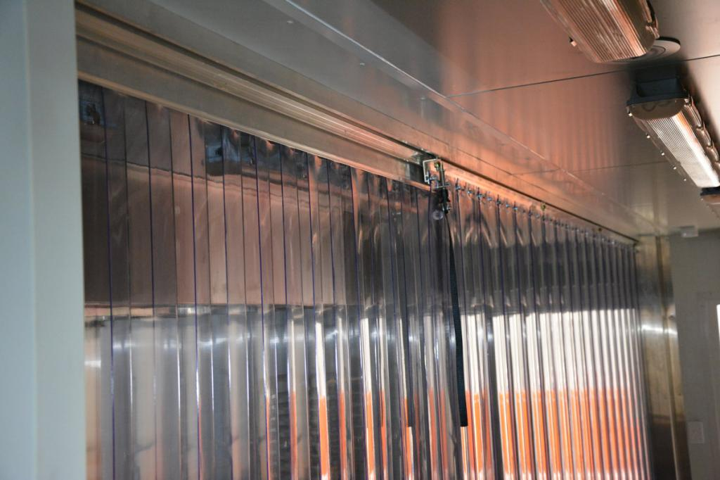Sliding Clear PVC Strip Doors