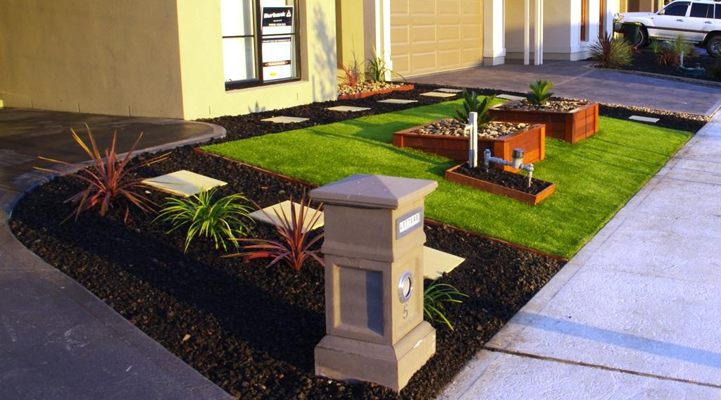Front garden gardens gallery landscape inspirations for Front garden design ideas melbourne