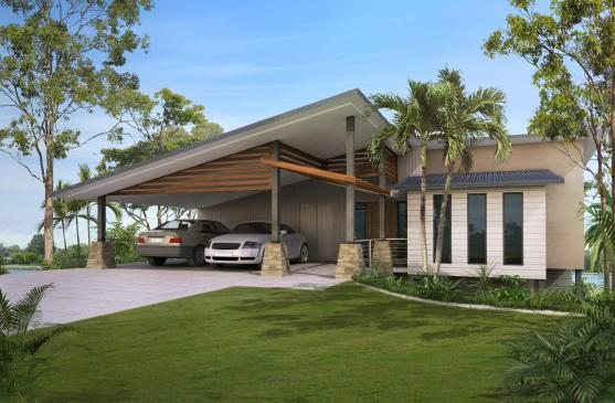 House Exterior Design by Pacific Building Services