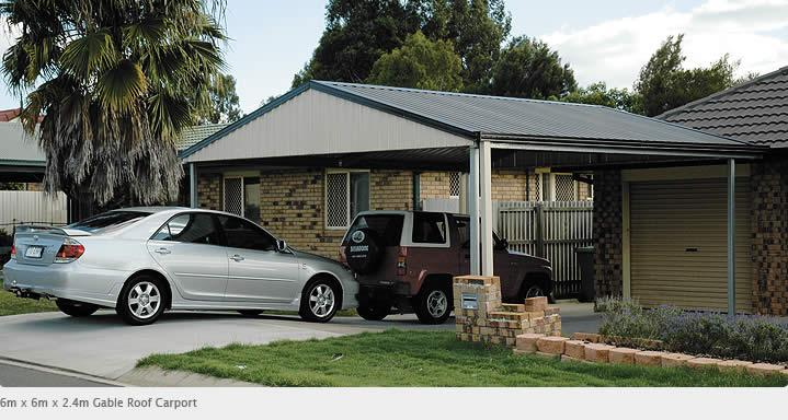 Carports inspiration totalspan yatala australia for Carport in front of house