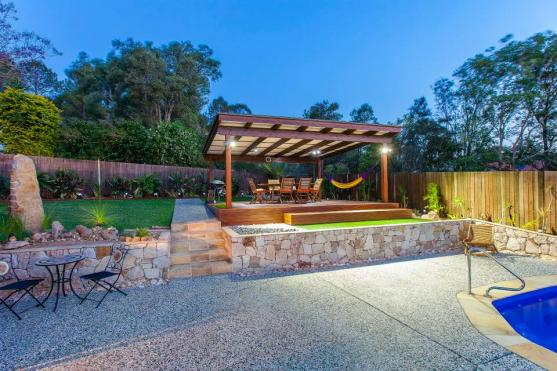 Get inspired by photos of pergolas from australian for Landscape construction adelaide