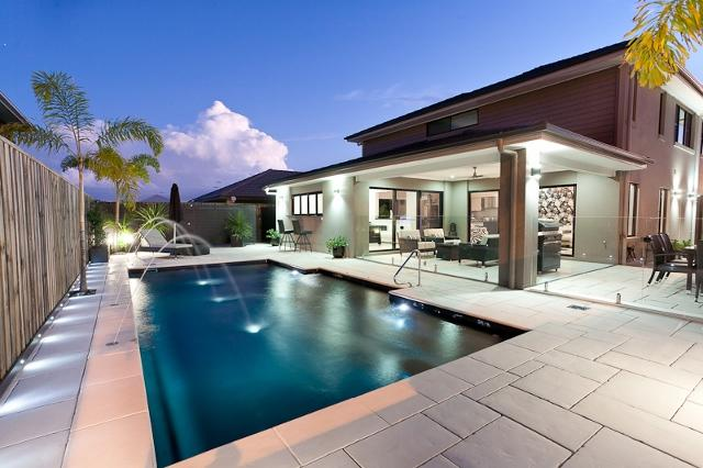 Outdoor living inspiration twist landscape construction for Space landscape construction adelaide