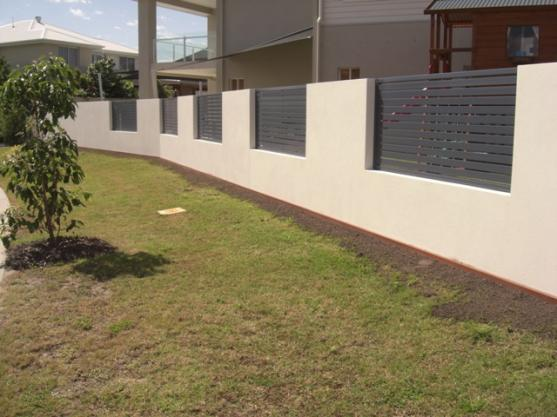 fence designs by twist landscape construction - Wall Fencing Designs