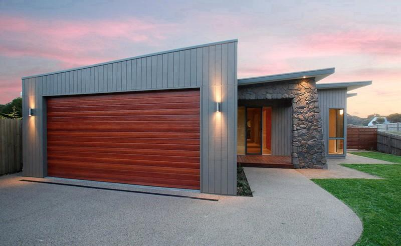 What materials can be used for roller doors for Garage materials