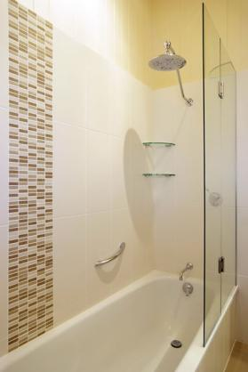 Bath Shower Combo ideas by Brisbane Bathroom Renovations Pty Ltd