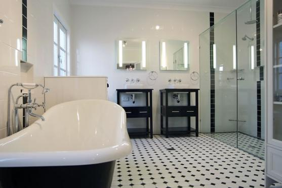 Bathroom design ideas get inspired by photos of - Salle de bain retro ...