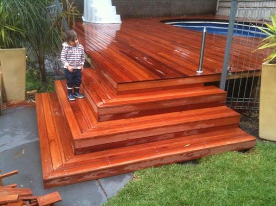 Timber Decking Ideas by Itradies