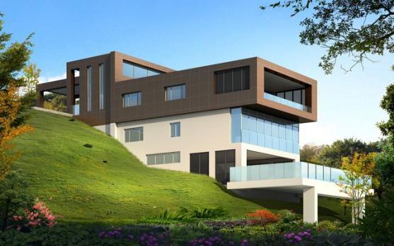 House Exterior Design by Design Studio 407