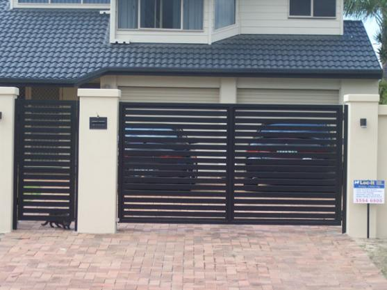Gate Design Ideas modern wooden gate designs for homes Pictures Of Gates By North Central Gate Garage And Automation