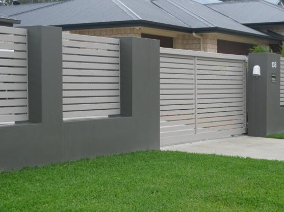 Fence Design Ideas 40 simple minimalis fence for huse design ideas home design corrugated metal fence by lorraine Fence Designs By Fences R Us